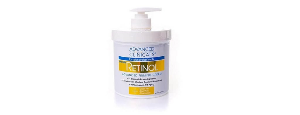 Advanced Clinicals Retinol creme reafirmante